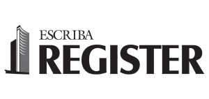 Escriba Register: sistema para registro de imoveis